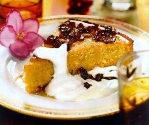 Персиковый пирог Татэн