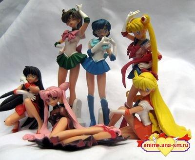 Фигурки персонажей аниме